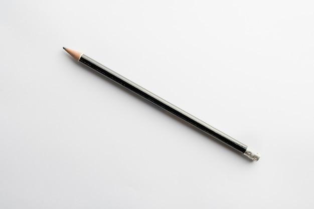 Crayon En Bois Couleur Noire Isolée Photo Premium