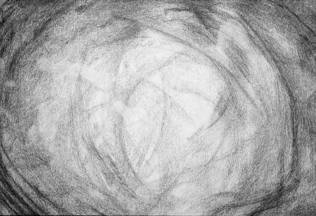 Crayon grunge noir et blanc texture ou fond Photo Premium