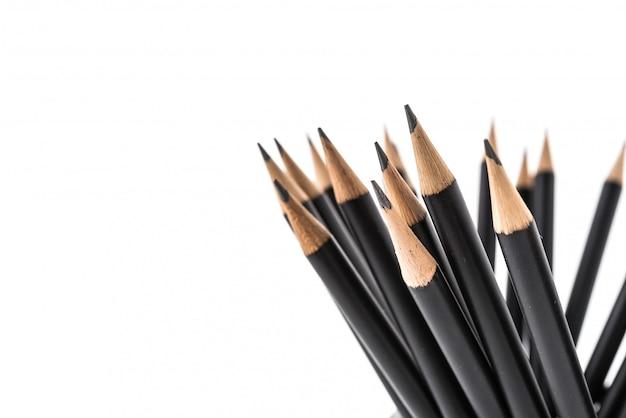 Crayon isolé sur fond blanc Photo gratuit