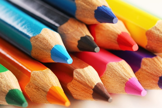 Crayons Colorés Photo gratuit