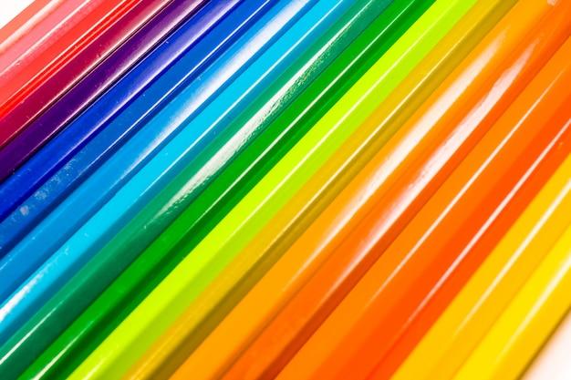 Crayons de couleur Photo Premium
