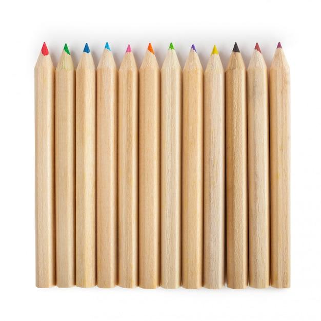 Crayons multicolores Photo Premium