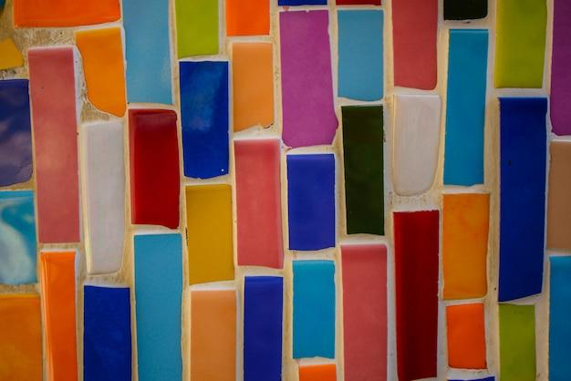 Créer un motif mural en céramique Photo Premium