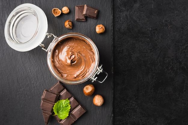 Crème au chocolat Photo gratuit