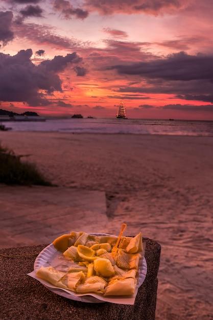 Crêpes Savoureuses à La Banane Photo Premium