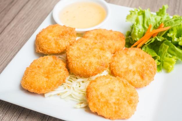 Crevettes frites Photo gratuit