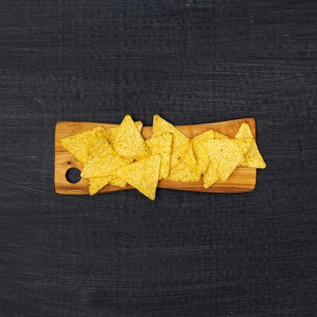 Croustillants Nachos Traditionnels Photo gratuit