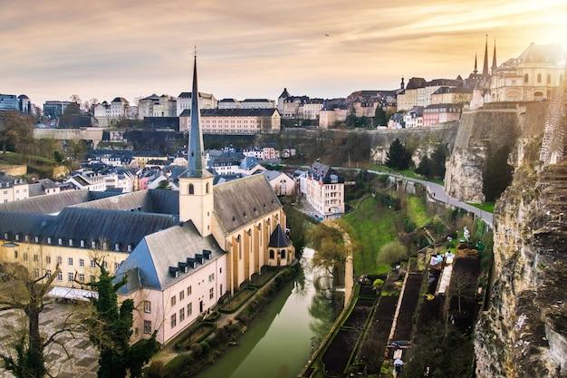 Cty de luxembourg Photo Premium