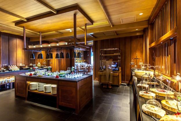 Cuisine moderne et restaurant. Photo Premium