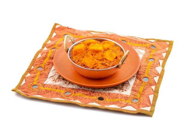 Cuisine végétarienne épicée délicieuse indienne paneer toofani Photo Premium