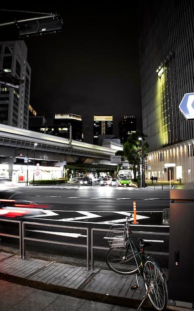Culture Japonaise Avec Rues Urbaines Photo gratuit