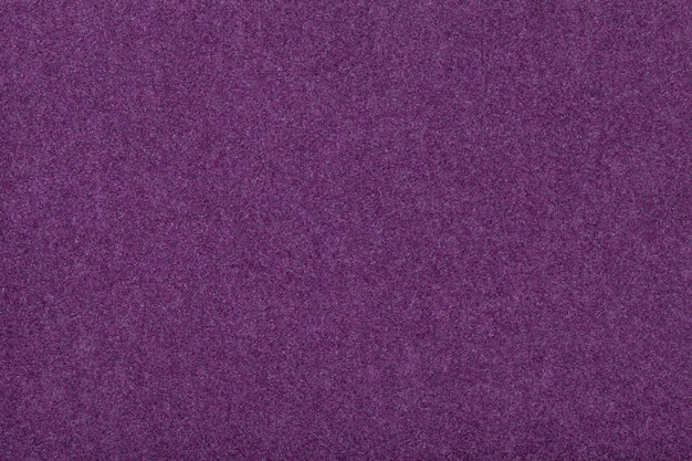 Daim mat violet foncé texture velours en feutre, Photo Premium