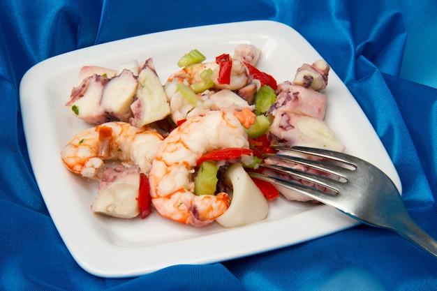 Dalas de fruits de mer Photo Premium