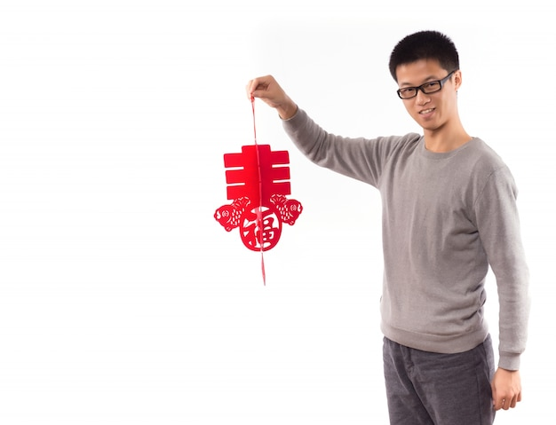 Dame asiatique mâle robe adulte Photo gratuit