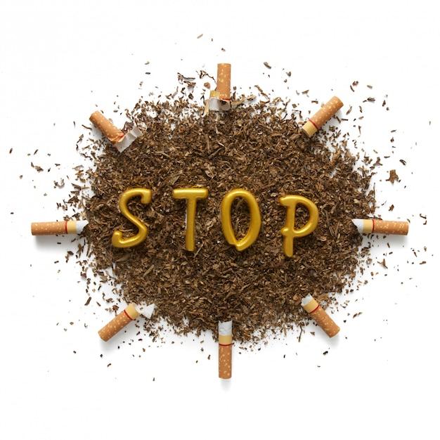 Les dangers du tabagisme Photo Premium