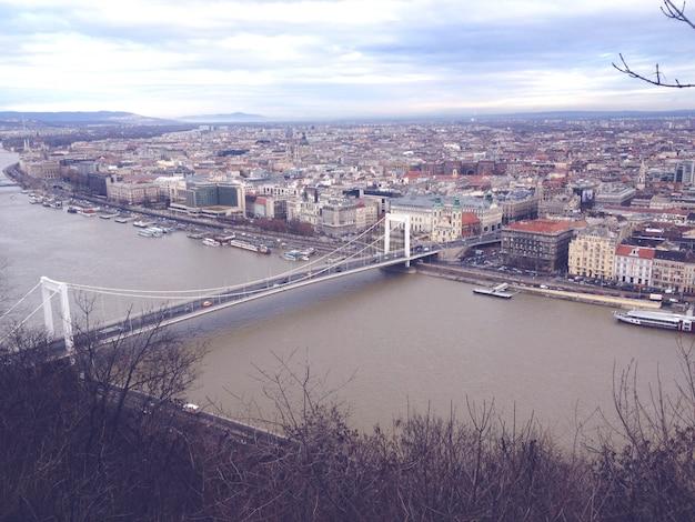 Danube à budapest hongrie Photo gratuit
