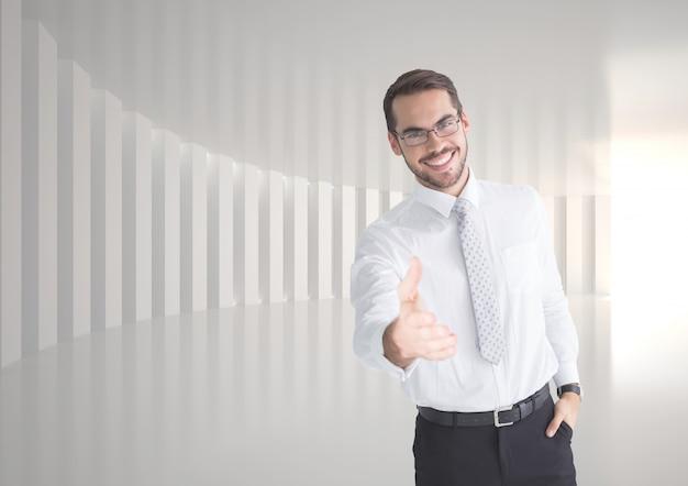 Debout Lumière Bras De Chemise De Serviette Photo gratuit