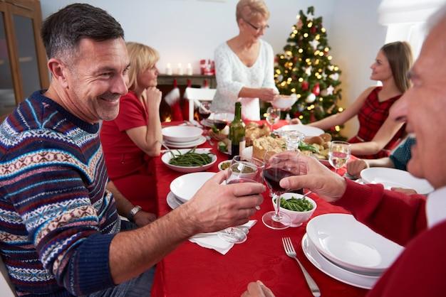 Le Début De La Veille De Noël Photo gratuit