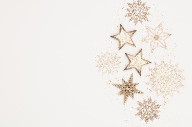 Décor Plat De Noël Photo Premium