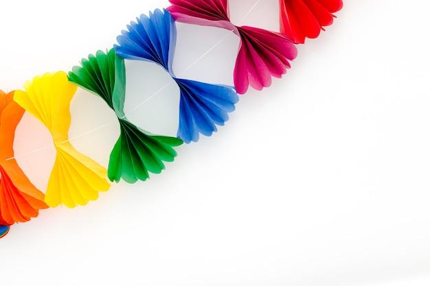 Décoration Colorée Pour La Fête Photo Premium