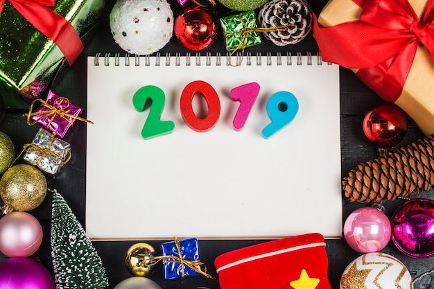 Décoration créative 2018 Photo Premium