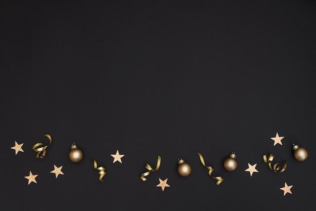 Décoration De Fête Pour Le Nouvel An Avec Espace De Copie Photo gratuit