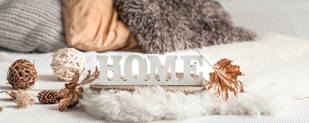 Décoration Intérieure Nature Morte Dans Une Maison Confortable. Photo gratuit