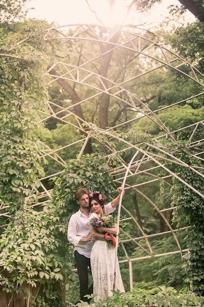 Décoration De Mariage Dans Le Jardin. Photo gratuit