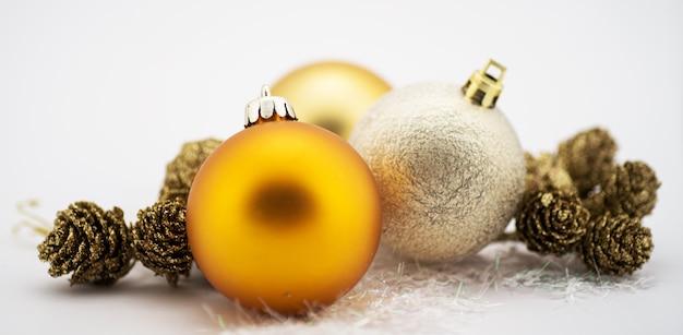 Décoration De Noël Isolée Photo Premium