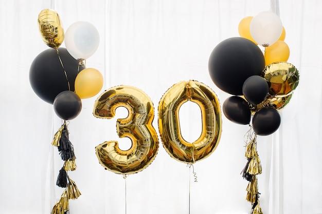 Décoration pour 30 ans, anniversaire Photo Premium