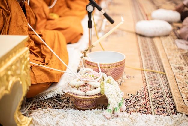 Décorations de mariage thaï Photo Premium