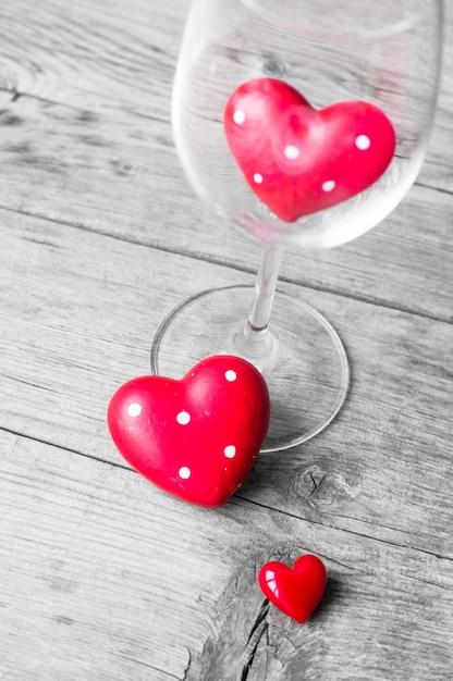 Décorations De La Saint-valentin Photo Premium