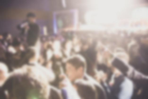 Défocalisation du thème de la cérémonie de remise des prix. contexte pour le concept d'entreprise de succès Photo Premium