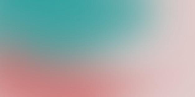 Dégradé abstrait doux couleurs turquoise et rose Photo Premium