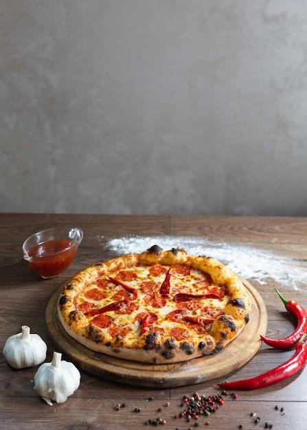 Délicieuse Pizza, Pizza Italienne Traditionnelle. Photo gratuit