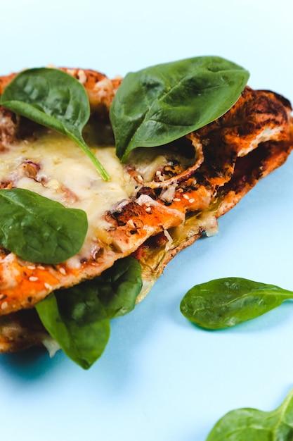 Délicieuse Pizza Photo gratuit