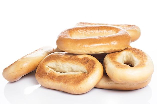 Délicieux Bagels à Base De Bon Blé Photo gratuit