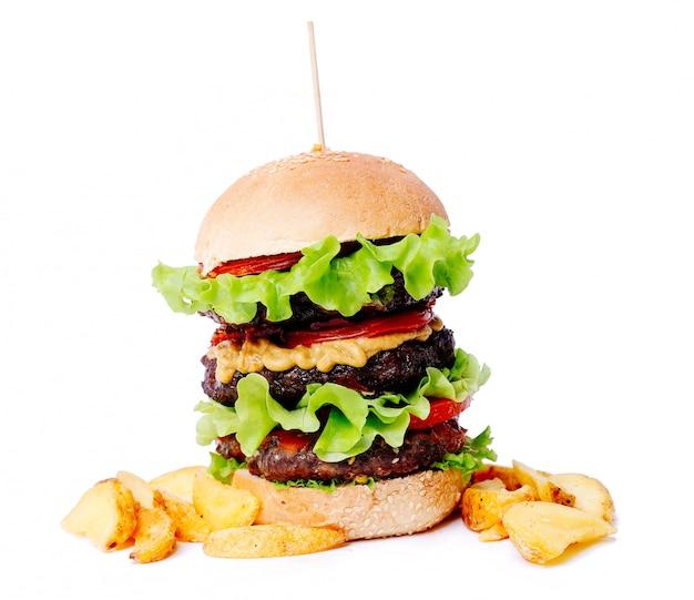 Délicieux Burger Photo gratuit