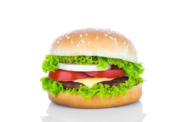 Délicieux Cheeseburger Photo gratuit