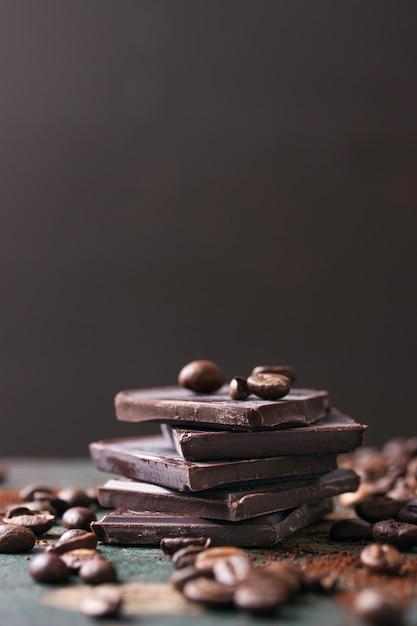 Délicieux chocolat au café Photo gratuit