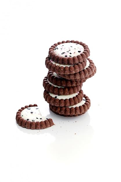 Délicieux Cookies Sur La Table Photo gratuit