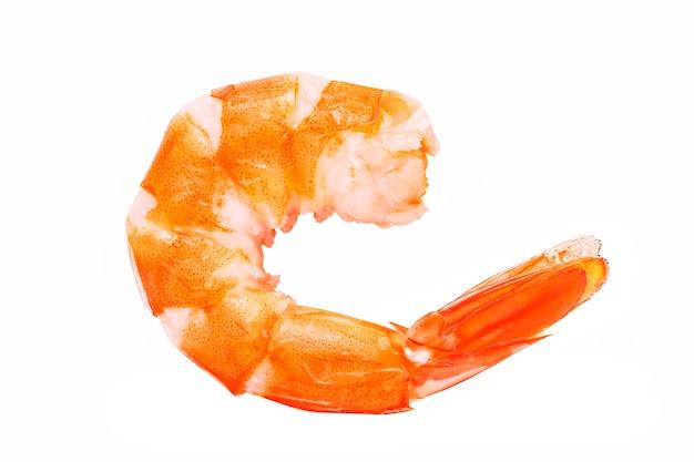 Délicieux crevettes cuites Photo gratuit