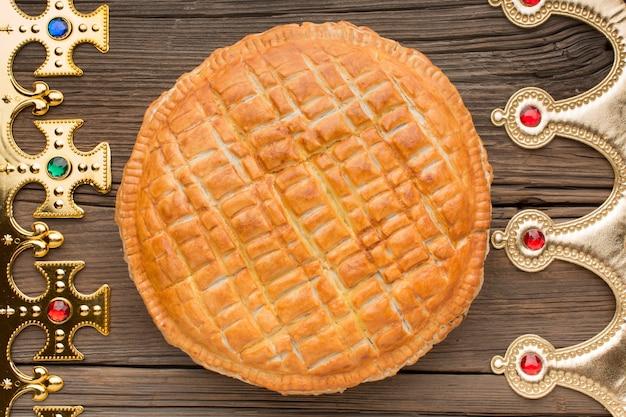 Délicieux Dessert à La Tarte épiphanie Photo Premium