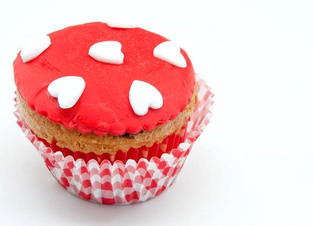 Délicieux petits gâteaux décorés Photo Premium