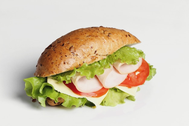 Délicieux Sandwich à La Laitue Photo gratuit