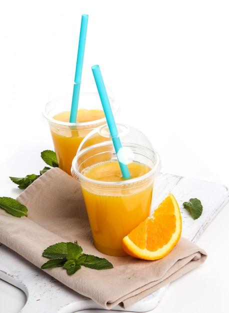 Délicieux Verre De Jus D'orange Photo gratuit