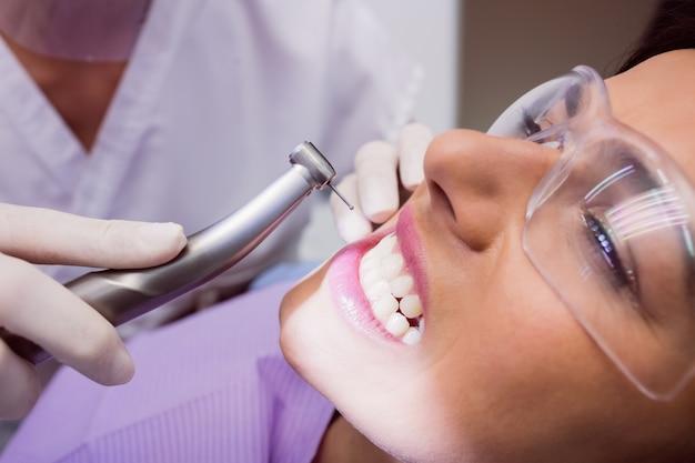Dentiste, Examiner, Patiente Photo gratuit