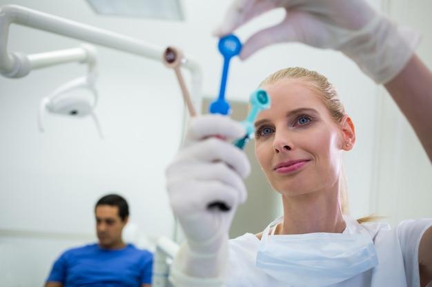 Dentiste, Regarder, Dentaire, Outils Photo gratuit