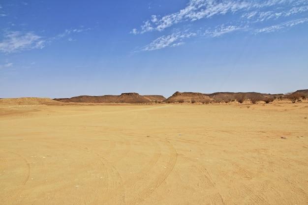 Désert Du Sahara Du Soudan Photo Premium