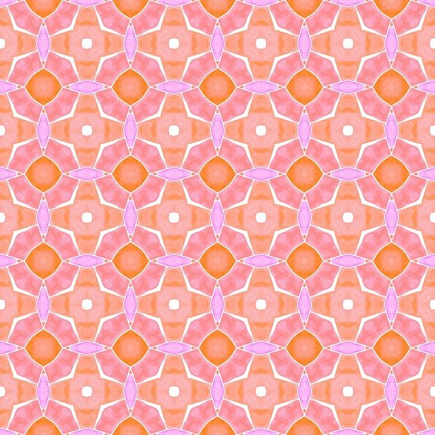 Design D'été Boho Chic Orange Attrayant. Photo Premium